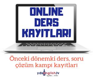 ONLINE DERS KAYITLARI PAKETİ